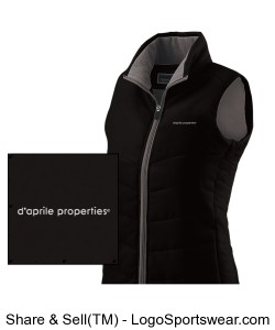 Ladies Admire Vest Design Zoom