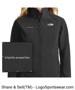 Ladies Apex Barrier Soft Shell Jacket by The North Face® Design Zoom