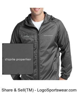 Eddie Bauer Mens Packable Wind Jacket Design Zoom